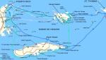 Seilruter i Spanish VirginIslands
